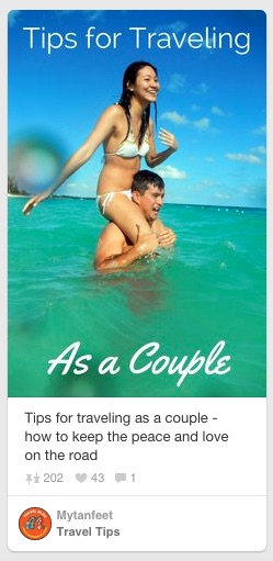 tips for travel couple